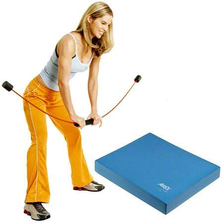 Flexi-Bar Sport & Airex Balance Pad Set - Fitnessgeräte - Flexi-bar