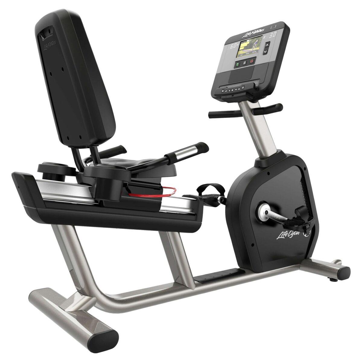 "Life Fitness Recumbent Bike ""Club Series+"" - Fitnessgeräte - Life Fitness"