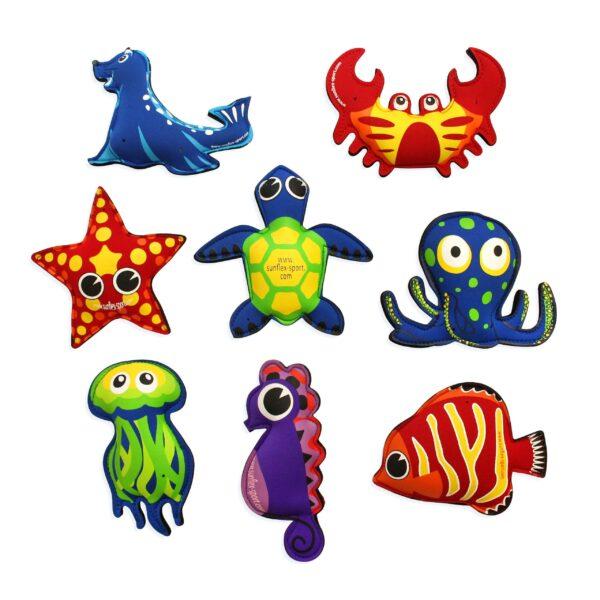 """Sunflex Wasserspieltiere-Set """"Plash Puppies"""" - Schwimmen - Sunflex"""
