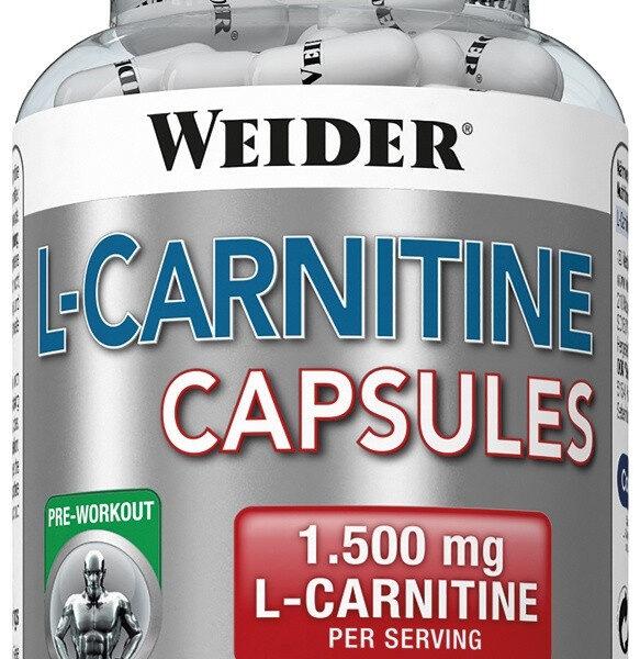 Weider L-Carnitine 1500 - 100 Kapseln