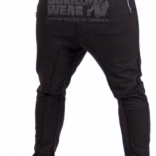 Gorilla Wear Alabama Drop Crotch Joggers - schwarz