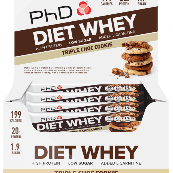 PhD Diet Whey Bar - 12 Riegel