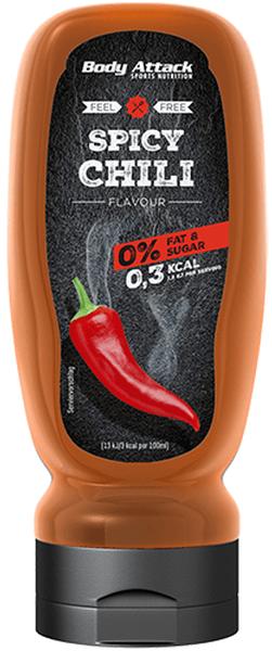 Body Attack Spicy Chili Sauce - 320 ml