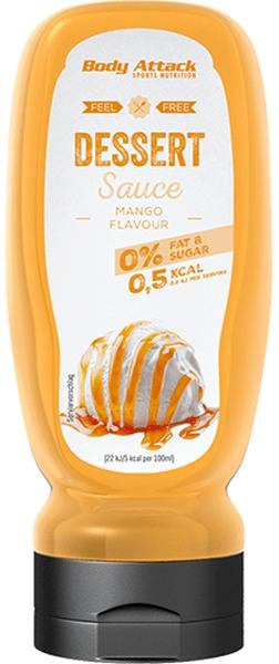 Body Attack Dessert Sauce Mango - 320ml