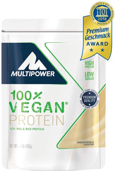 Multipower 100% Vegan Protein - 450 g
