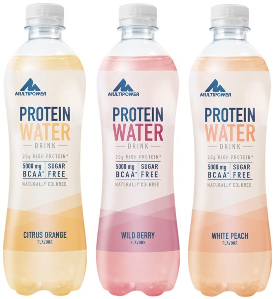 Multipower Protein Water - 12x 500 ml Drink