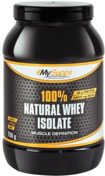 My Supps 100% Whey Isolat - 750g - MHD WARE 01/2019