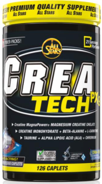 All Stars CREA-TECH PX9 - 126 Tabletten - MHD WARE 01/2019