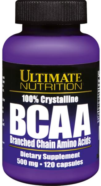 Ultimate Nutrition BCAA - 120 Kapseln - MHD WARE 02/2019