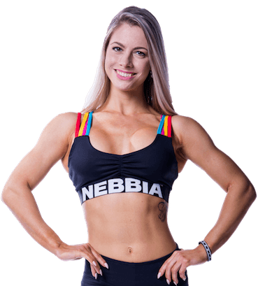 Nebbia Rainbow Mini Top - Sports Bra