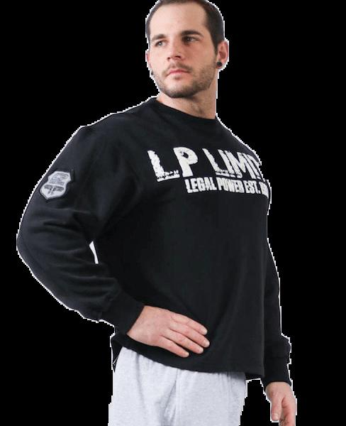 Legal Power Gym Sweater LP Limits - Schwarz
