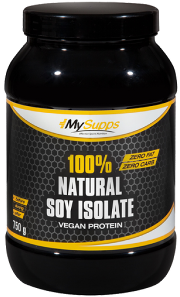 My Supps 100% Natural Soy-Isolate - 750g - MHD WARE 05/2019