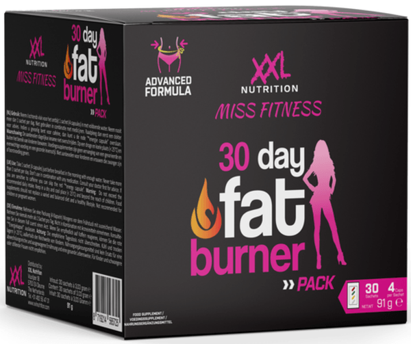XXL Nutrition Miss Fitness 30 Day Fat Burner Pack