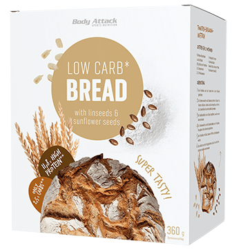 Body Attack Low-Carb Brot Backmischung - MHD WARE 07/2019