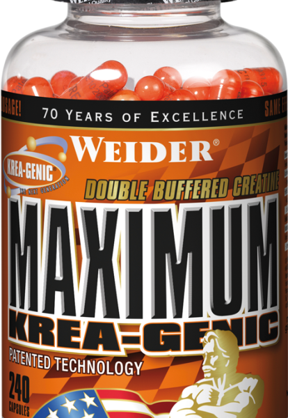 Weider Maximum Krea-Genic - 240 Kapseln - MHD WARE 11/2019