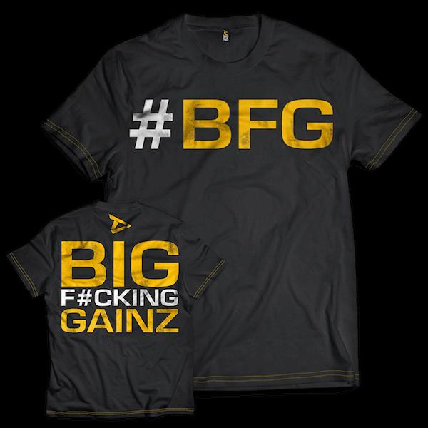 Dedicated Nutrition T-Shirt #BFG