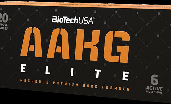BioTechUSA AAKG Elite - 120 Kapseln - MHD WARE 04.11.2019