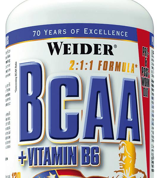 Weider BCAA + Vitamin B6 - 130 Tabletten - MHD WARE 10/2020