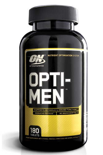 Optimum Nutrition Opti-Men - 180 Tabletten - MHD WARE 01/2020