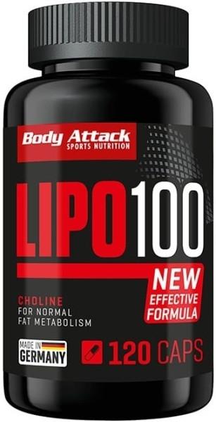 Body Attack LIPO 100 - 120 Kapseln
