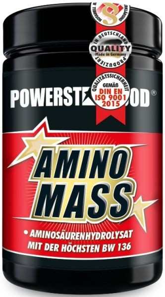 Powerstar Amino Mass - 500 Tabletten