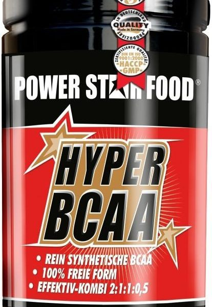 Powerstar Hyper BCAA - 500 Tabletten