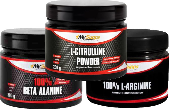 My Supps Pre-Workout Stack - Basic