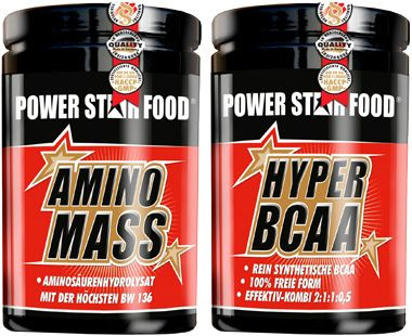 Powerstar Amino Pack - 1000 Tabletten