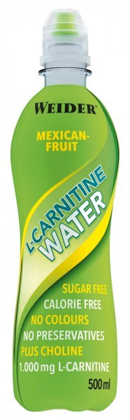Weider L-Carnitine Water - 24 x 500ml