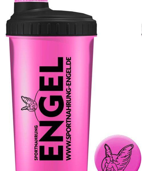 Pink/Schwarz - Sportnahrung-Engel Shaker 2.0