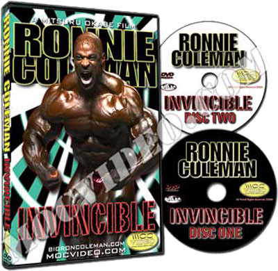 "Ronnie Coleman ""Invincible"" - DVD"