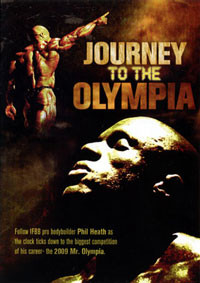Phil Heath - The Journey To The Olympia - DVD