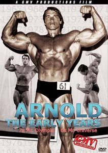Arnold Schwarzenegger - Die Frühen Jahre - DVD