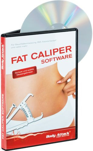 Body Attack Fat Caliper Software