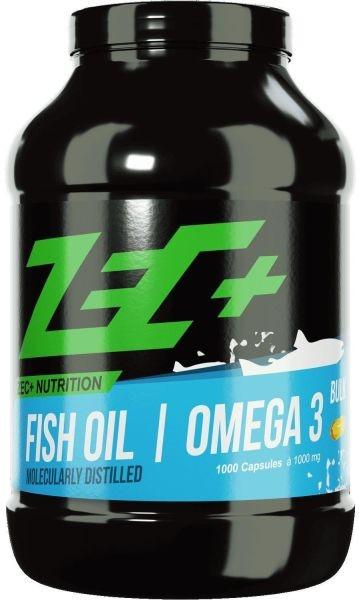 ZEC+ Fischöl Omega 3 Kapseln - 1000 Kapseln