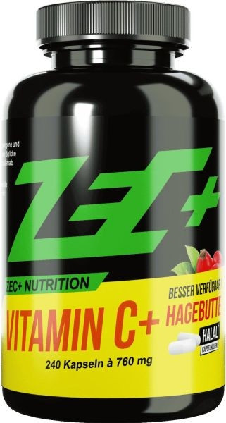 ZEC+ Vitamin C+ Hagebutte - 240 Kapseln