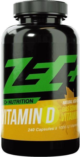 ZEC+ Vitamin D - 240 Kapseln
