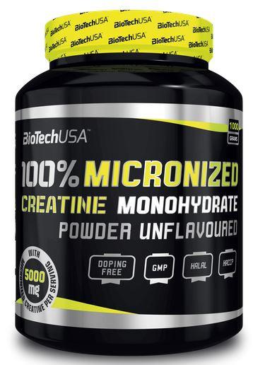 BioTechUSA 100% Creatine Monohydrate - 1000g