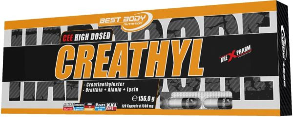 Best Body Nutrition Hardcore Creathyl - 120 Kapseln