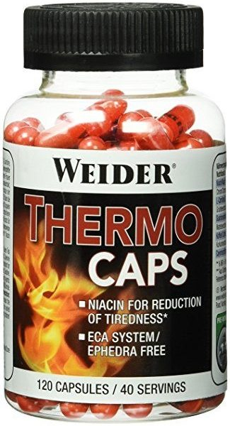 Weider Thermo Caps - 120 Kapseln