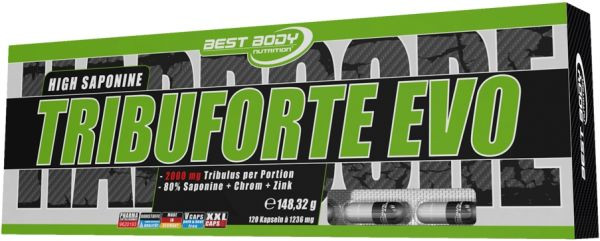 Best Body Nutrition Tribuforte Evo Caps - 120 Kapseln