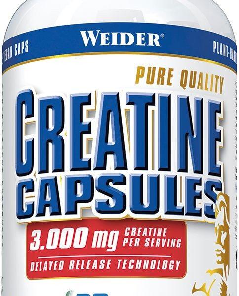 Weider Creatine Capsules - 200 Kapseln á 1000mg