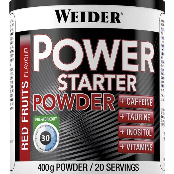 Weider Power Starter Powder - 400g Dose