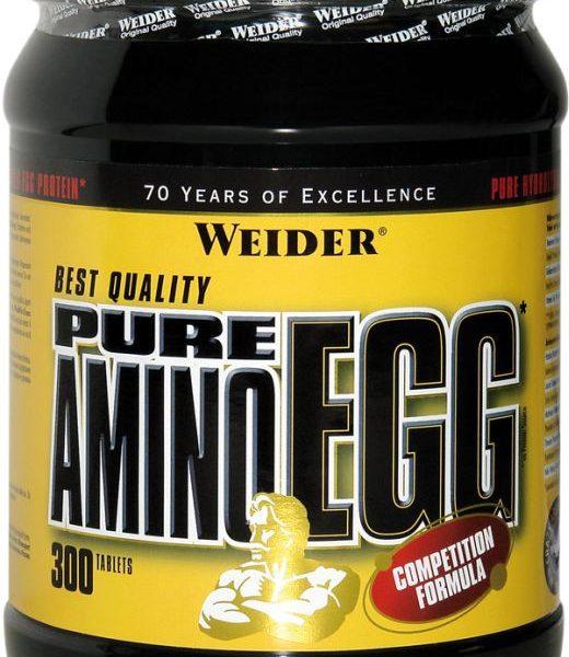 Weider Pure Egg Amino - 300 Tabl.