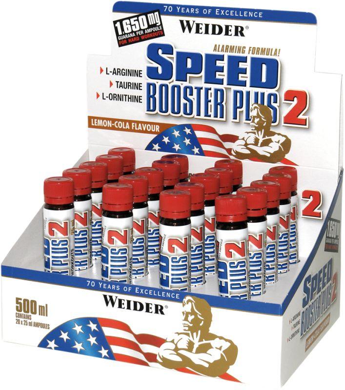 Weider Speed Booster Plus II - 20 Ampullen á 25ml