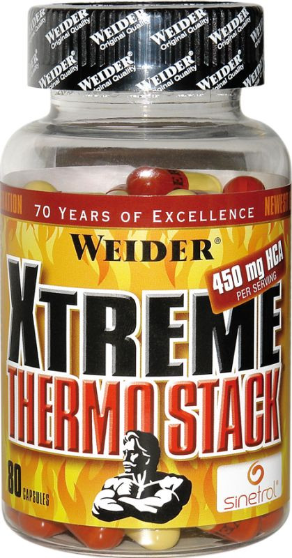 Weider Xtreme Thermo Stack - 80 Kapseln