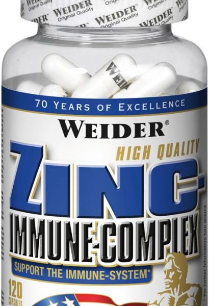 Weider Zinc Immune-Complex - 120 Kapseln