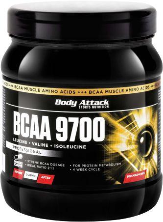 Body Attack BCAA 9700 - 300 Kapseln