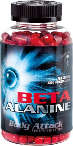 Body Attack Beta Alanine - 210 Kapseln