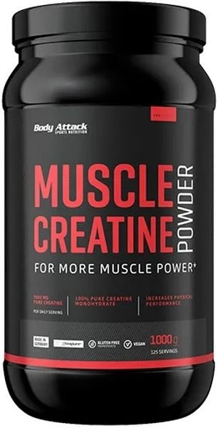 Body Attack Creapure Muscle Creatin - 1kg